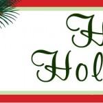 Happy Holidays from Christina Motley